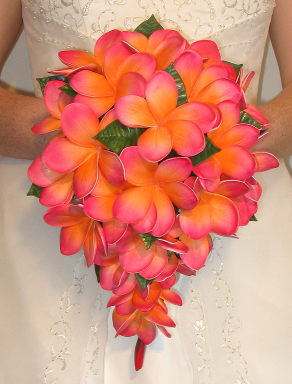 Bridal bouquet tropical flowers : Share