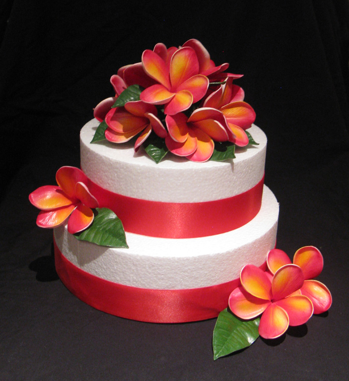 frangipani wedding cakes real touch artificial frangipani wedding bouquets 14445